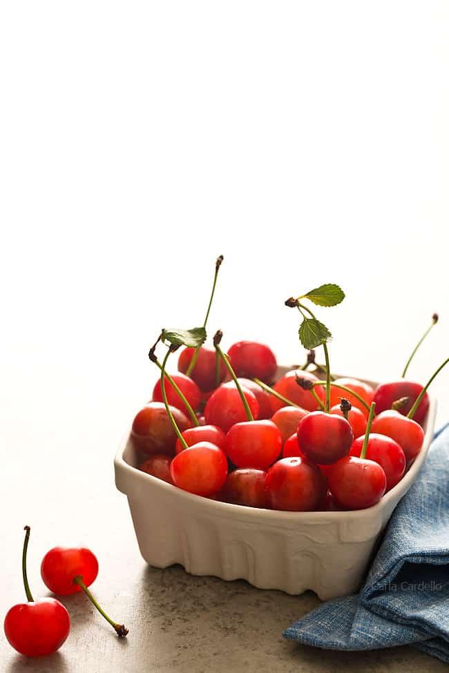 Picking Sour Cherries For Cherry Jam