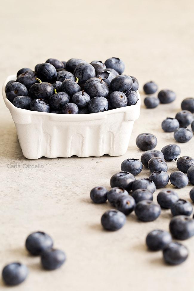 Blueberries for Blueberry Yogurt Popsicles