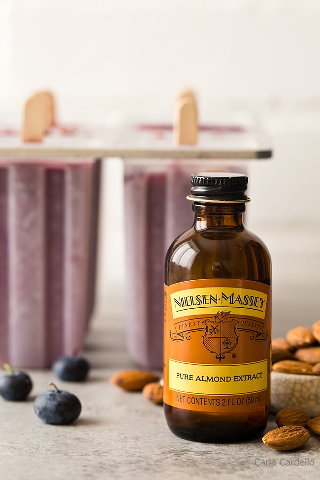 Almond Extract for Blueberry Yogurt Popsicles