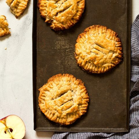 Small Batch Apple Hand Pies for fall baking