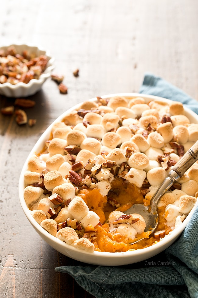 Sweet Potato Casserole For Two Homemade In The Kitchen
