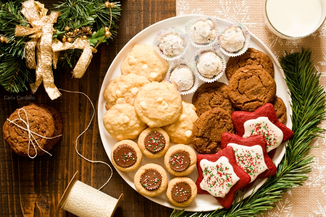 Christmas Platters And Trays.How To Make The Best Christmas Cookie Tray Homemade In The