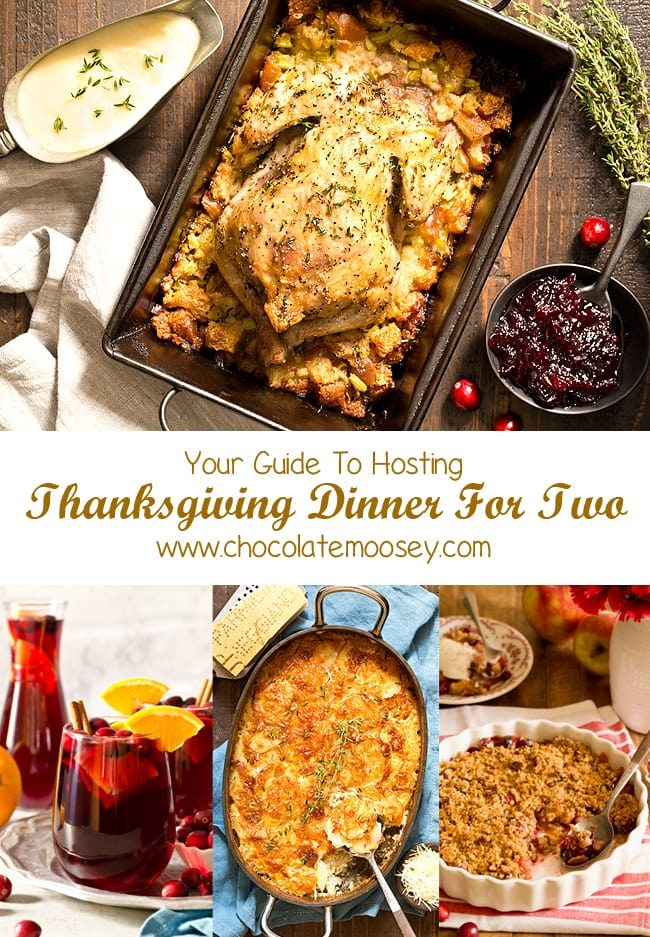 Not hosting a huge Thanksgiving this year? You're in luck because here is your ultimate guide to Thanksgiving Dinner For Two! Menu includes recipes for two and small batch recipes of your favorite Thanksgiving dishes.