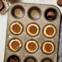Peanut Butter Cookie Cups (Small Batch)