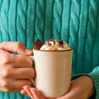 Thick Hot Chocolate For One