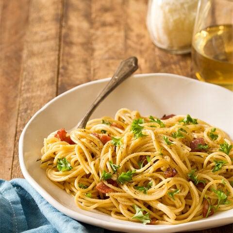 Spaghetti Carbonara (Dinner For Two)
