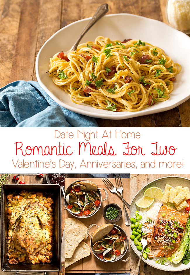 Romantic Foods For The Bedroom: Romantic Meals For Two At Home