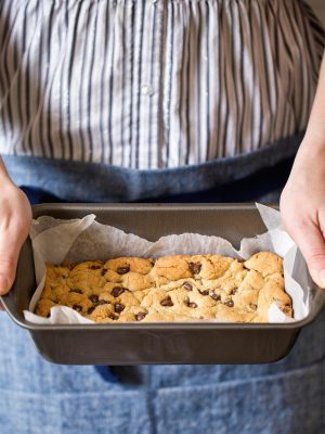 Small Batch Chocolate Chip Cookie Bars