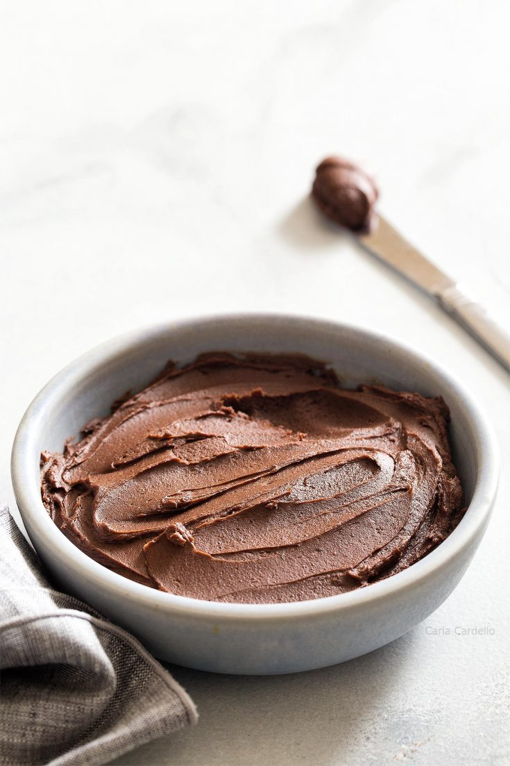 Small Batch Chocolate Frosting Homemade In The Kitchen
