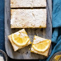 Small Batch Lemon Bars