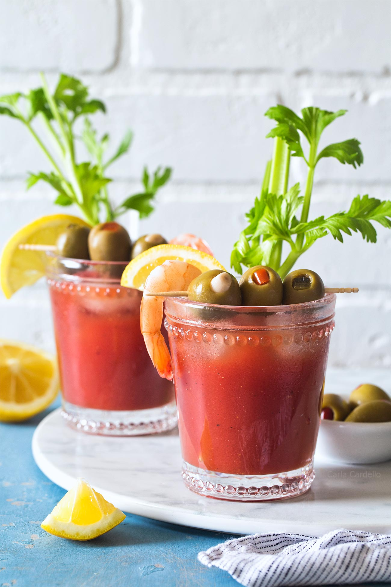 Small Batch Bloody Mary recipe made from scratch with tomato juice isn't like any other you've had, thanks to one secret ingredient.
