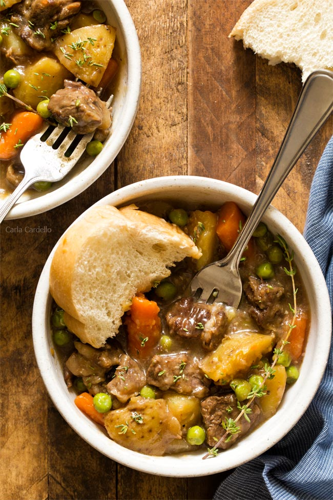Instant Pot Beef Stew For Two