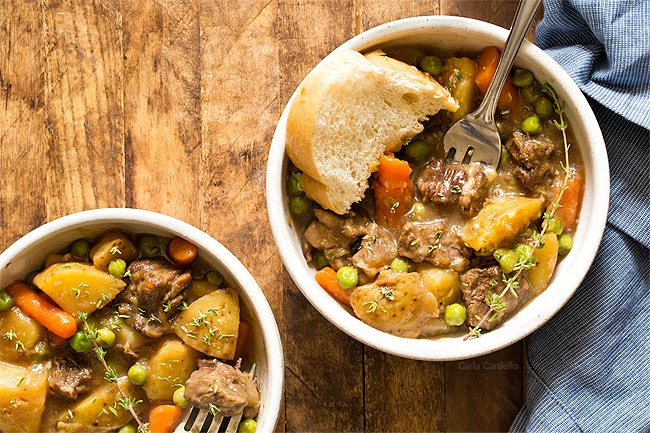 Hearty Instant Pot Beef Stew For Two