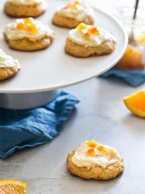 Small Batch Soft Orange Cookies