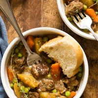 Stovetop Beef Stew For Two (Dinner For Two)