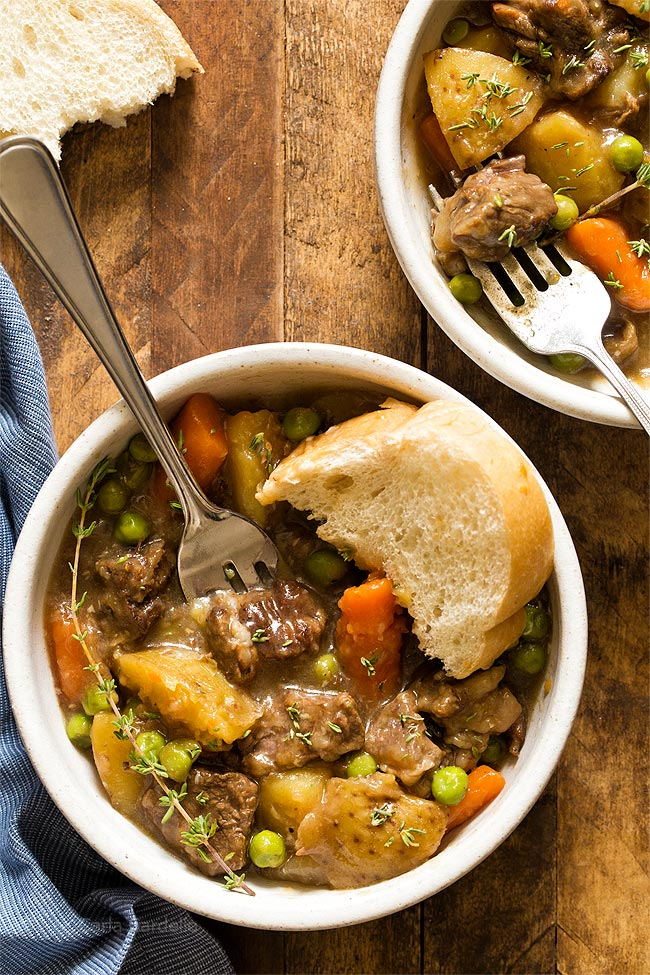 Stovetop Beef Stew For Two Dinner For Two Homemade In The Kitchen
