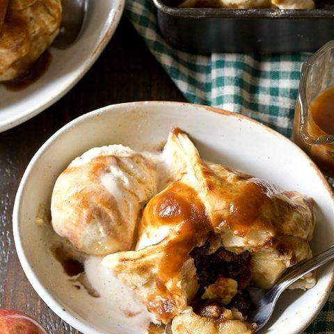 Apple Butter Dumplings