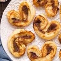 Apple Butter Palmiers