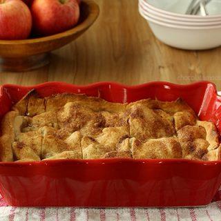 Apple Dumpling Cobbler