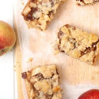 Apple Pie Crumb Bars