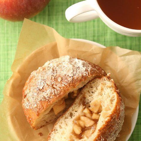 Apple Pie Filled Doughnuts