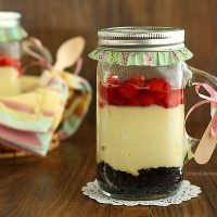 Baked Cheesecake In A Jar