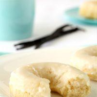 Baked Vanilla Bean Doughnuts