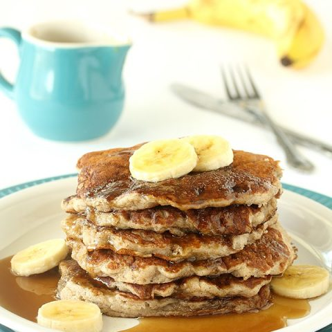 Banana Coconut Milk Pancakes For Two (Dairy Free)