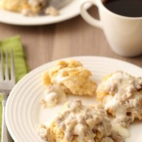 Biscuits and Gravy For Two