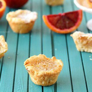 Blood Orange Pie Bites