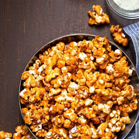 Buffalo Ranch Caramel Popcorn