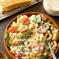 Caesar Macaroni Salad