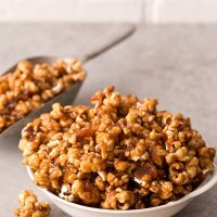 Caramel Apple Butter Popcorn
