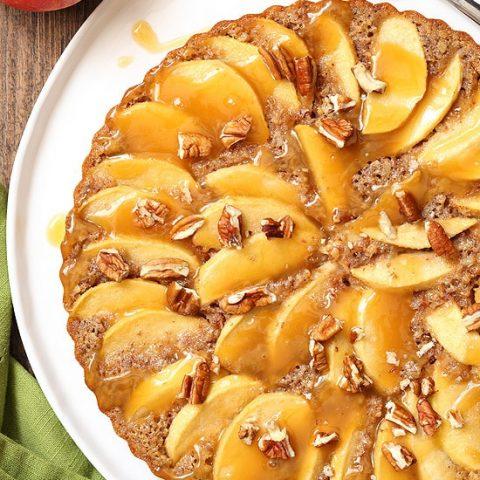 Caramel Apple Pecan Tart