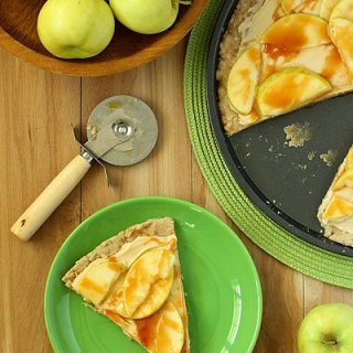 Caramel Apple Sugar Cookie Pizza