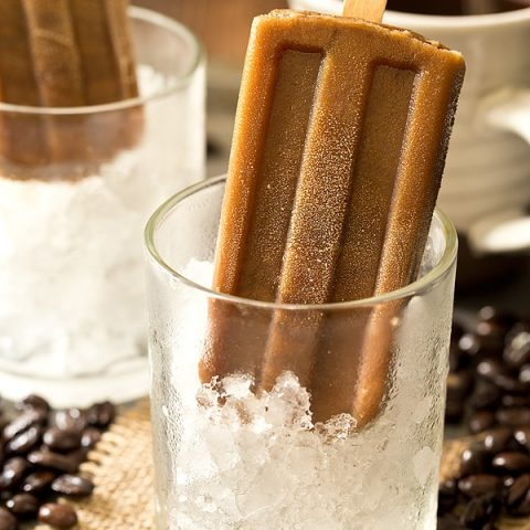 Caramel Latte Pops