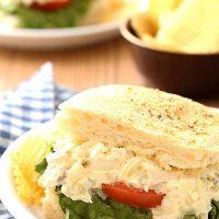 Chicken Salad Breadstick Sandwiches