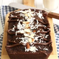 Chocolate Almond Joy Bread