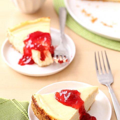 9 Inch Classic Cheesecake Recipe