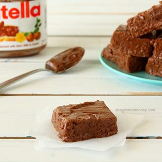 Easy Nutella Fudge