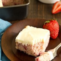 Strawberry Snack Cake