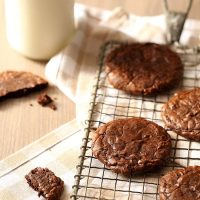 Small Batch Brownie Cookies