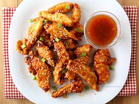 General Tso S Sweet Chili Chicken Strips