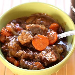 Stovetop Guinness Beef Stew For Two