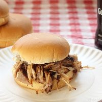 Guinness Pulled Pork Sandwiches
