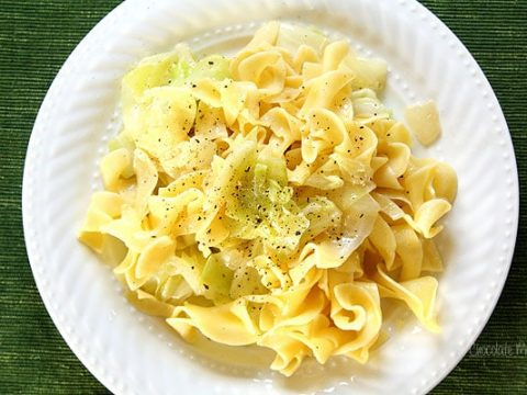 Haluski (Cabbage and Noodles)