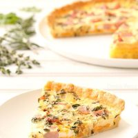 Ham and Herb Quiche