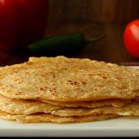 Homemade Spiced Flour Tortillas