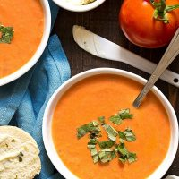 Homemade Tomato Soup For Two