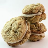 Nutty Oatmeal Ginger Sandwich Cookies